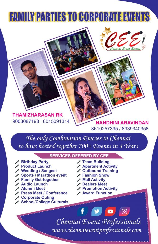 All India Event Emcees Entertainers and Professionals